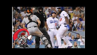 Yasiel puig, nick hundley spark bench-clearing brawl in los angeles on tuesday night
