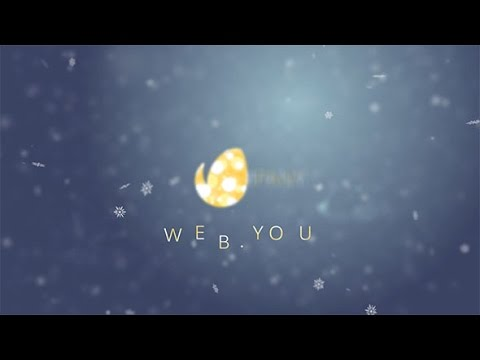 snow logo after effects template youtube