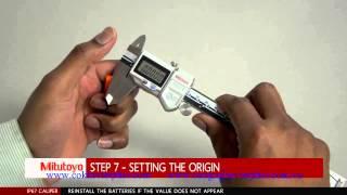 Cách thay pin cho thước cặp điện tử Mitutoyo / Mitutoyo Replace battery