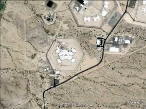 Arizona State Prison  Eyman  Google Earth  YouTube