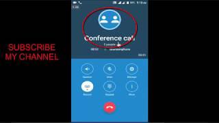 একাধিক লোকের সাথে কথা বলুন কনফারেনছের মাধ্যমে | how to conference call on android