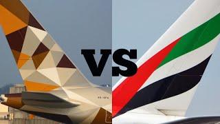 Top 10 Airlines - Emirates vs. Etihad Airways