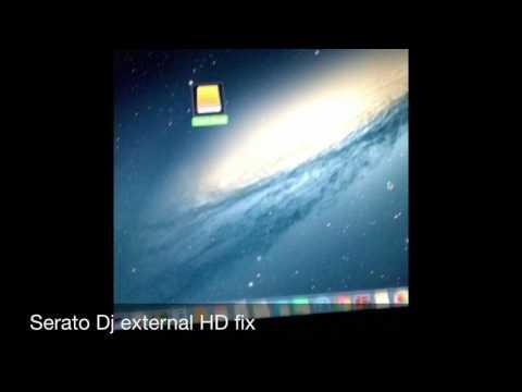 Saving crates to serato dj from external hard drive
