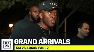 HIGHLIGHTS | KSI vs. Logan Paul 2: Grand Arrivals