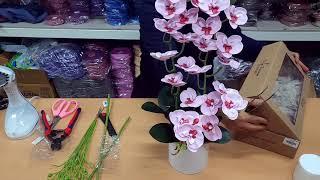 디자인쁘렝땅 비누꽃 양난 보자기포장법