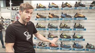Scarpa Climbing Shoe Overview