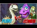 Apotatosaurus vs Mondo Bronto - Plants vs Zombies Heroes Gameplay
