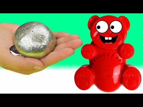 Gallium Schleim mit Lucky Bär selber machen - DiY