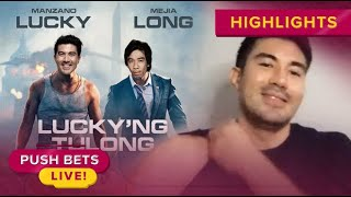 Luis Manzano partners with Long Mejia for online show 'Luckyng Tulong' | Push Bets Highlights