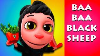 Baa Baa Black Sheep | Rhymes For Children | Nursery Rhymes For Children