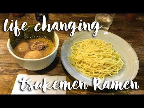 Life Changing Tsukemen Ramen Experience in Tokyo (Tokyo Vlog #7)