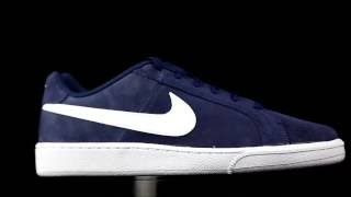 Litoral exprimir alondra  Nike Court Royale azul marino. - YouTube