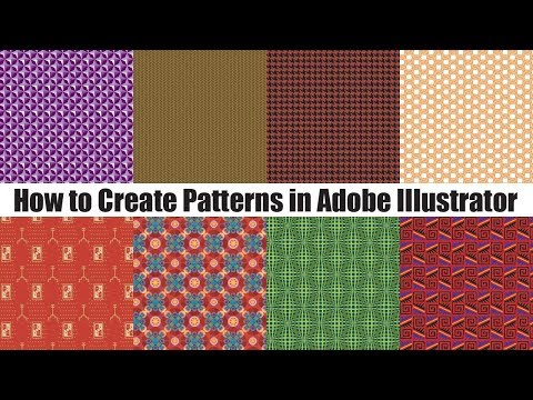 How to Create Patterns in Adobe Illustrator Tutorial thumbnail