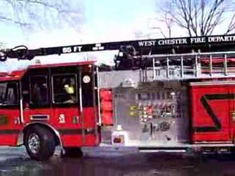 Emergency fire dispatch tones sounds