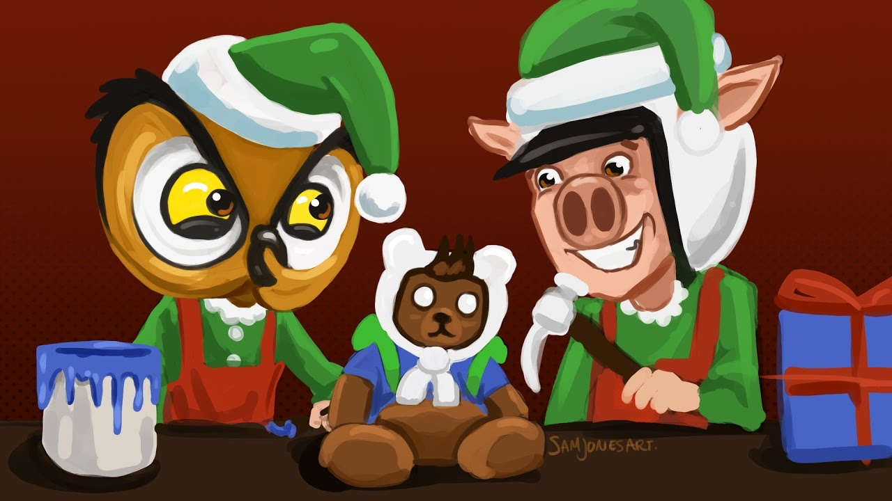 Gmod Deathrun Funny Moments - Santa's Workshop!