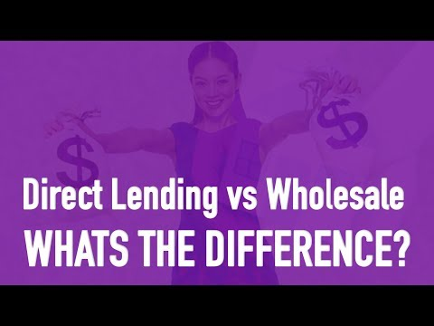 Direct Lending Vs Wholesale - Applying For A Home Loan? Whats The Difference - Home Buying Tuesdays