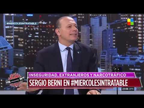 Sergio Berni: Patricia Bullrich está sufriendo abstinencia mediática