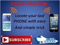 how to locate my mobile||find my mobile||simple trick to track to lost mobile||Vishaltechhelp