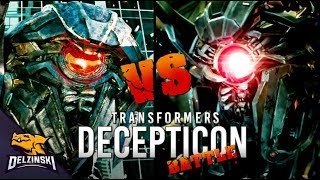 Transformers Shockwave vs Nitro Zeus (Decepticon Battle)