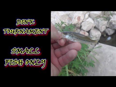 RIVER CITY DINKFEST - San Antonio Sudden Death Bank Fishing Tournament - #bassfishing #fishing