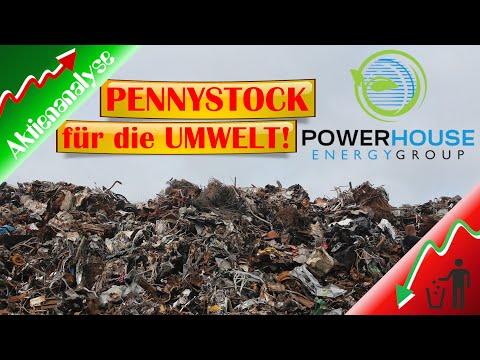 PowerHouse Energy Group Aktie - Aktienanalyse - Der Pennystock für die Umwelt!?