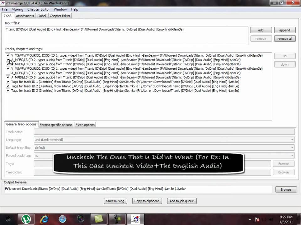 mkv extract audio