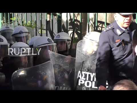 Greece: Health sector cuts prompt clashes with police outside PM residence