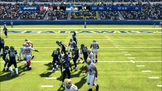Madden 13 Ranked Match- Sea vs SF