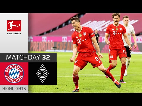 Bayern Munich Borussia Moenchengladbach Goals And Highlights