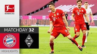 FC Bayern München Borussia M gladbach 6 0 Highlights Matchday 32 Bundesliga 2020 21