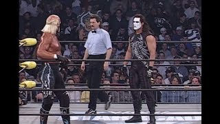 Starrcade 97 referee on what happened in Hogan vs Sting match