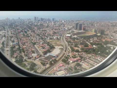 Landing in Luanda, Angola!