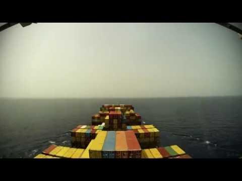 Time-lapse (48x, 60fps): arrival Lomé (Togo) [4K / UHD]