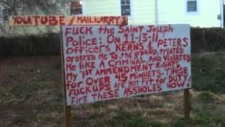 City of Saint Joseph Missouri cops harass me