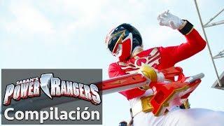 Power Rangers en Español   La historia del Megaforce Ranger Rojo