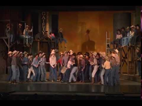 La Porte High School Musical Crazy for You 2014
