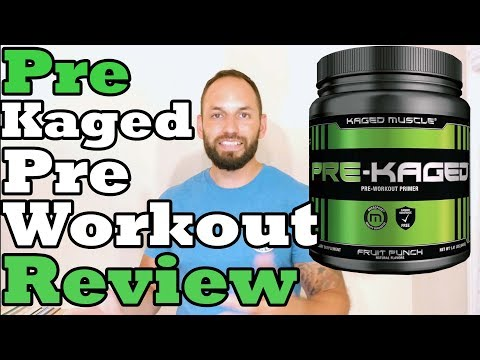 Kaged Muscle | Pre-Kaged |  Pre Workout Supplement Review