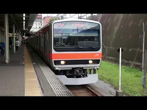 E231系0番台千ケヨMU37編成 JR武蔵野線各駅停車府中本町行き 船橋法典駅発車