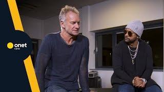 Sting i Shaggy: nawiązała się miedzy nami niezwykła relacja | #OnetRANO