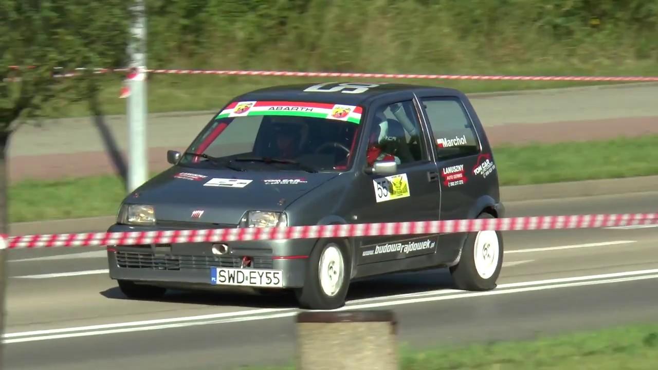 4 Runda RPŚl 2017 – Jastrzębie-Zdrój – Mateusz Marczyk / Adam Klimasara – Fiat CCS