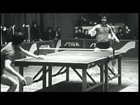 Настольный теннис 1983 год. Обучение технике.