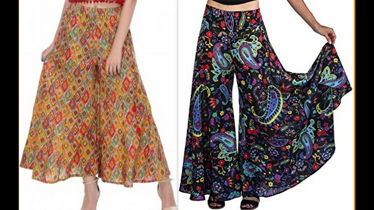 eb861081464 How to make Designer Palazzo pants With Tuk pleats DIY (Hindi version)