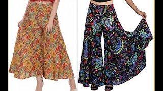 How to make Designer Palazzo pants With Tuk pleats DIY (Hindi version)