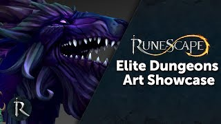 The Making-of Elite Dungeons - RuneScape Art Showcase