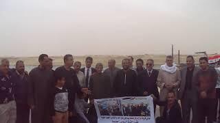 شاهد رسالة أبناء قرية نواج بالغربية الى الرئيس من قناة السويس الجديدة