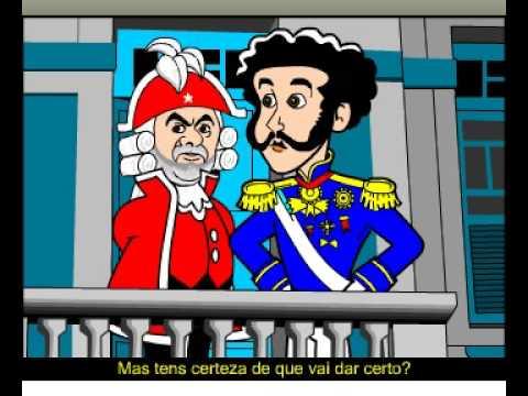 Lula E Dom Pedro Charge Animada Youtube