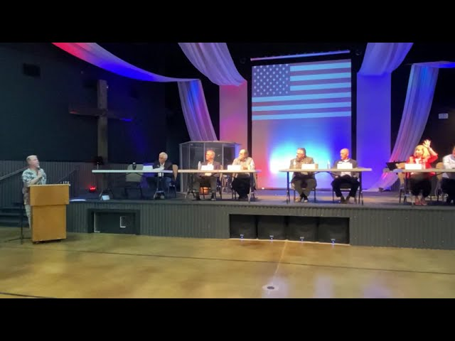 Mandatory Vaccines and Non Partisan Elections - Sept. Town Hall  - 2020