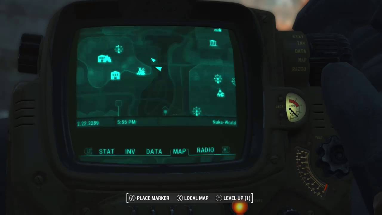 Fo4 Nuka World Map.Fallout 4 Getting Inside Employee Area Of Dry Rock Gulch In Nuka