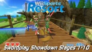 Wii Sports Resort - Swordplay Showdown: Levels 1-10 (Untouched)