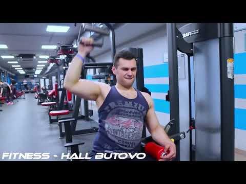 Крутая Видео нарезка тренировок в фитнес клубе под клубную музыку